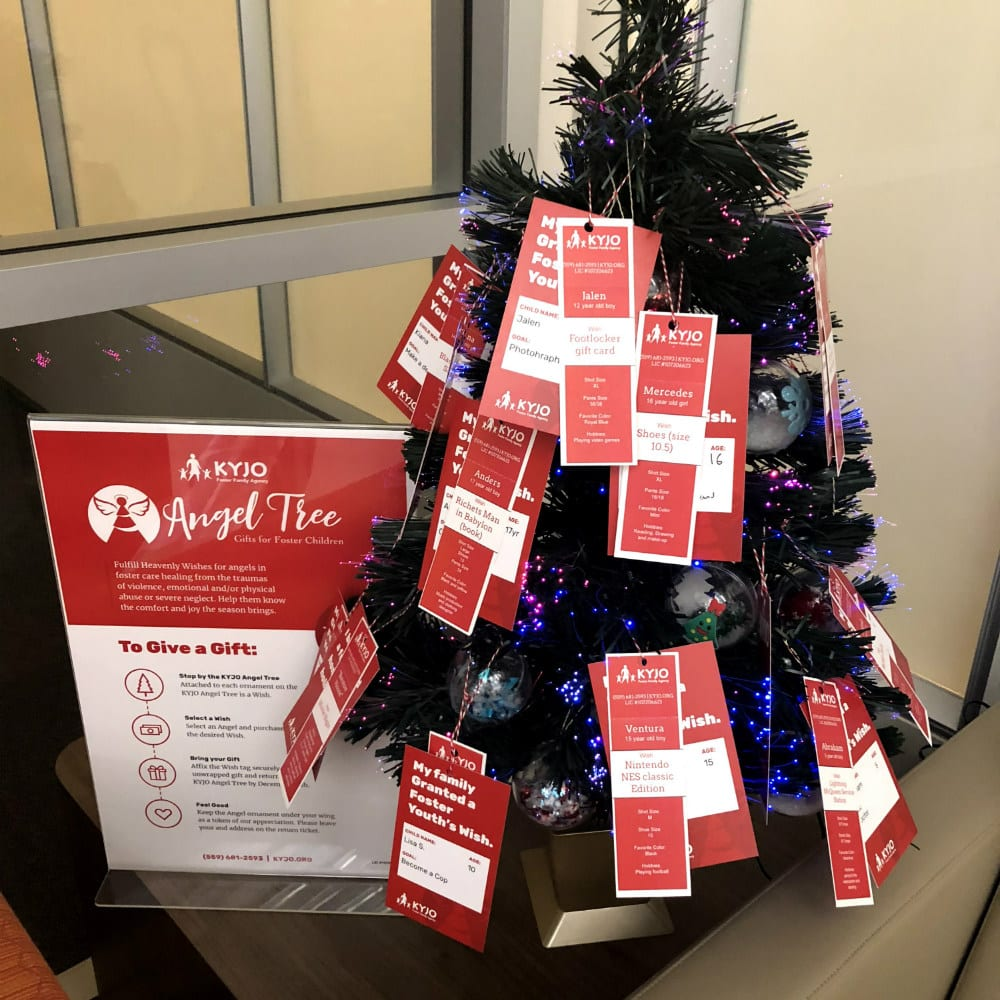 KYJO Angel Tree 2018 Featured